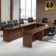W/EUT 투톤연결식 회의용탁자(ㄷ자형),고급회의탁자