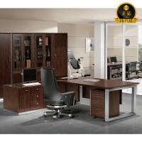 ED240-2 흑단 하이페라 책상 세트,고급중역용책상