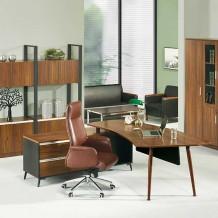 LWD-301 에이블2 책상[사이드포함]/디자인책상/심플한책상/대표실책상