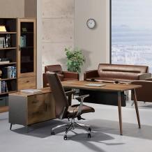 LND-507R/507L 오크마운트7 책상(사이드포함)/디자인/심플한책상