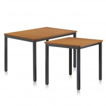 HFT-5404LT 티크 사각식탁 테이블